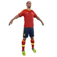Soccer Player ESP