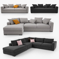 boconcept sofa set max