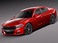 dodge charger 2015 3ds