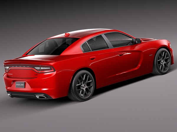 dodge charger 2015 3ds - Dodge Charger 2015 by squir