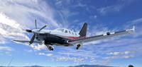 socata tbm900 aircraft 3d max