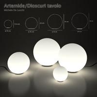 Landscape lamps Artemide / Dioscuri tavolo