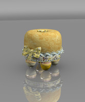children stool 3d ma