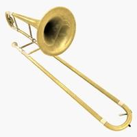 maya trombone brass
