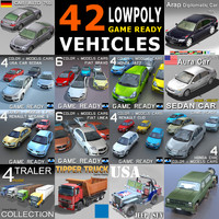 3d model cars vehicles 42