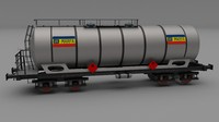 cfr tanker train car 3d model