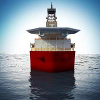 3d model drill ship