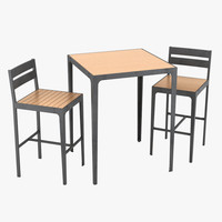 outdoor furniture 3d model