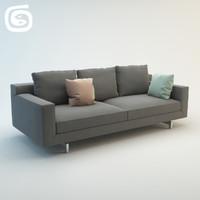 3ds max taylor sofa