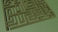 c4d maze