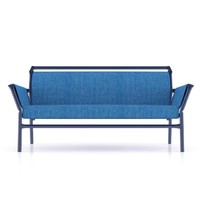 3d model bla station sofa