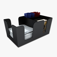 3d model bar caddy