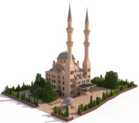 3ds max ottoman mosque