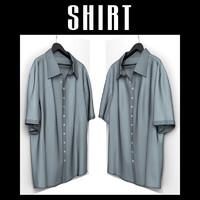 shirt hanger interior 3d obj