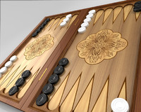 Animated backgammon