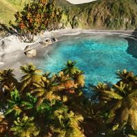 beach vue 3d vue