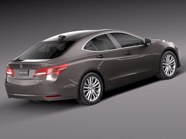 3d model of acura tlx 2015 - Acura TLX 2015 by squir
