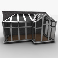 3ds max conservatory