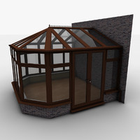 3dsmax conservatory