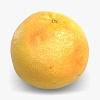 3d fruit 1 model