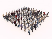 3d model people pack