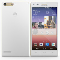 3d huawei ascend p7 mini model