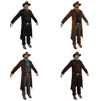 3ds max pack cowboy 3