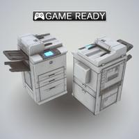 3d model printer fax