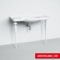 3d basin washbasin