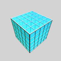 maya modular cube