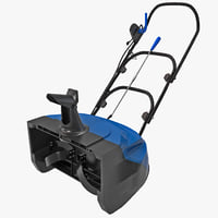electric snow thrower sj620 3d max