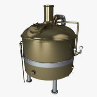 brewery tank 3d max