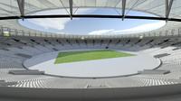 3d max maracana stadium