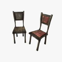 games chair 3d model