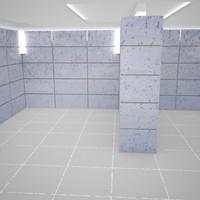 maya room 8000x8000x3000 mm