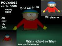 3d model eric cartman