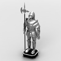 medieval armor 3ds