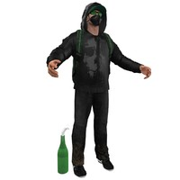 urban guerrilla 3d model