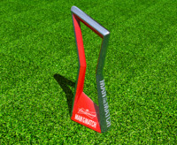 man match trophy 3d model