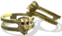 3ds max skull ring