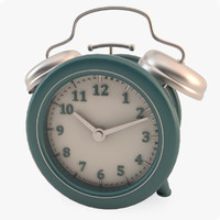 table clock 3d model