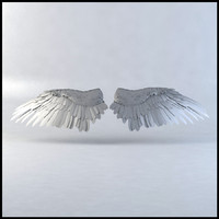 bird wings 3d max