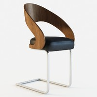 chaise moderne lola chair 3d model