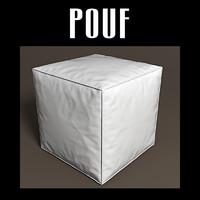 3d obj pouf interiors