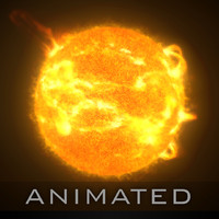 star solar 3d model