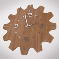 wooden wall clock max