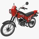 moped 3D models