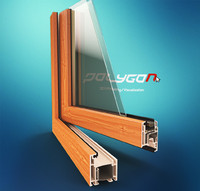 3d pvc window profile