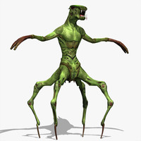 creature modeled max