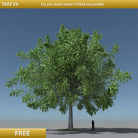 free tree modification v10 3d model